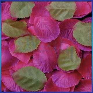 300 pcs Wedding Flower Petals Silk Rose Patels Party Decor. Favor all