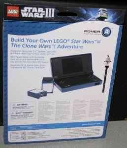 Nintendo DSi Star Wars III Armor Case Kit Brand New
