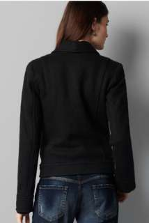 ANN TAYLOR LOFT Black Jeweled Pocket Military Coat Blazer Jacket $148
