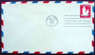 SCOTT UC25   FIPEX Air Mail Stamped Envelope FDC