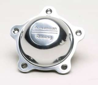 American Racing Center Cap Bolt On Dome Polished Aluminum 3505293 ARE