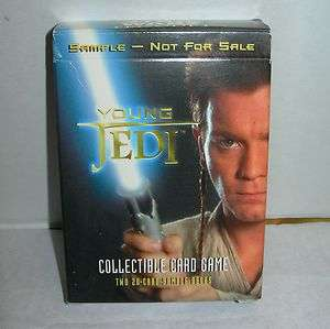 Star Wars Episode 1 YOUNG JEDI Collectible Card Game Sample DECIPHER