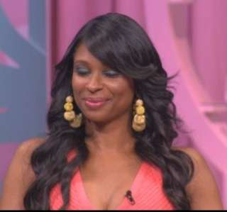 Fushia Pink Mesh Ball Earrings Jennifer Evelyn Basketball Wives