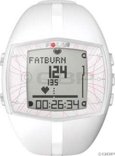 Polar FT40 Heart Rate Monitor Womens; White