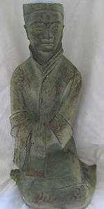 AUSTIN PRODUCTIONS 1980 LARGE CHINESE FIGURE STATUE