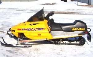 2000 Ski Doo MXZ Service Repair Manual 500 600 700 800