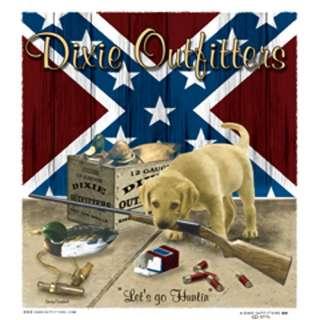 Dixie Rebel Dog  LETS GO HUNTIN