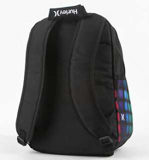 Hurley Dots Backpack Book Bag Girls School Multi NEW + Pencil Case