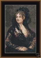 VICTORIAN LADY 11~counted cross stitch pattern #448~People Vintage