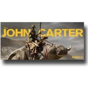 John Carter Poster   2011 Movie Teaser Flyer Promo 11 X 17