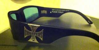 West Coast Choppers Jesse James Sunglasses! Real Deal! Rare!