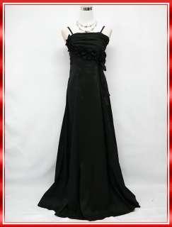 Splendide robe de soirée style Boho très chic de couleur noir,