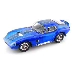 1965 Shelby Cobra Daytona Coupe 1/18 Metallic Blue w/Blue