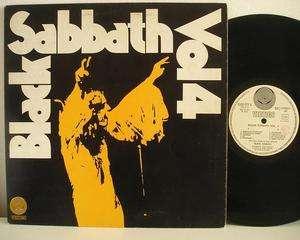 Black Sabbath vol. 4 LP Vertigo swirl 1st press Italy 4 page insert