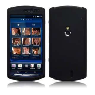 London Magic Store   Black Silicone Case Cover For Sony Ericsson