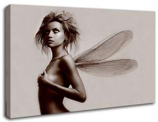 Contemporary Modern Exotic Fairy Wings Wall Art Décor