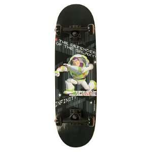 Disney Pixar Toy Story Buzz Lightyear Defender 28 in. Skateboard