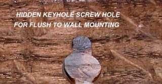 arts crafts mission wall mantel mirror quarter sawn tiger oak walnut