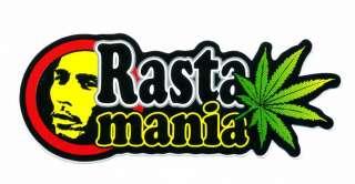 BOB MARLEY Cannabis Reggae Rasta Man Bikes Sticker O50