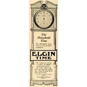 1904 Ad Elgin National Watch Time Vintage Illinois   Original Print Ad