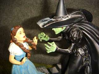 WICKED WITCH OZ SCULPTURE Dorothys Final Hour FRANKLIN