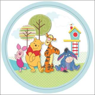 Lampe Plafonnier Verre Disney Winnie Pooh Deco Enfant