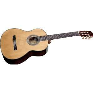Fender Cn 140S Classical Acoustic Guitar Natural: Musical