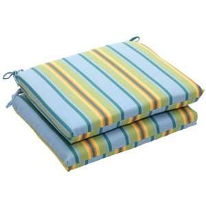 Pack of 2 Eco Friendly Blue, Green and Yellow Stripe