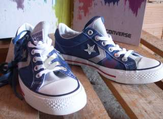 Scarpe Converse Star Player Ev Ox TG 41,5 123158 uomo donna sugar blue