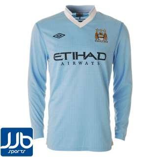 Manchester City Home Mens Shirt 2011/2012 LS