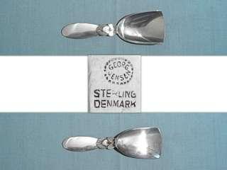 GEORG JENSEN STERLING SUGAR SHOVEL ~ CACTUS ~ NO MONO