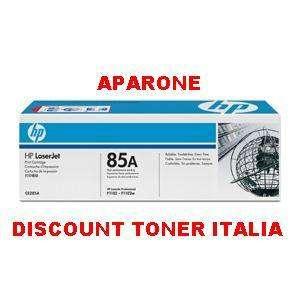 TONER CE285A HP LASERJET P1102 P 1102 ORIGINALE
