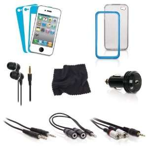 i.Sound 12 in 1 Accessory Kit for iPhone 4 Cell Phones