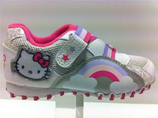 Little Girls Hello Kitty Trainers shoes size uk 6 to 12