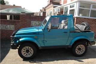 SUZUKI SJ413 SAMURAI SPORT Blue with Hard & Soft Tops