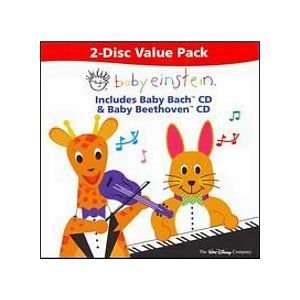 Baby Einstein Baby Bach and Baby Beethoven CD Toys