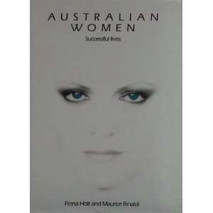 Australian women: Successful lives (9780333400821): Fiona
