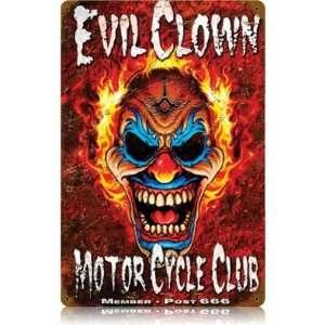 Motorcycle Vintage Metal Sign   Victory Vintage Signs: Home & Kitchen