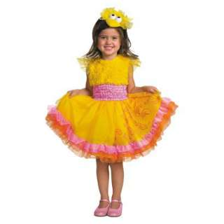 Toddler Sesame Street   Frilly Big Bird Costume.Opens in a new window