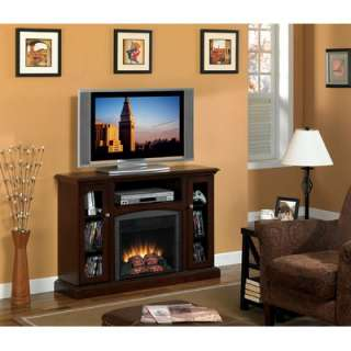 Flame Advantage Bancroft Electric Fireplace in Roasted Mahogany