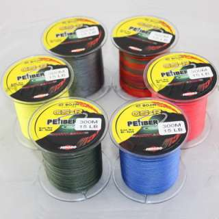 Spuer Strong 100% Dyneema Spectra Braid Fishing Line 300M 327 Yard