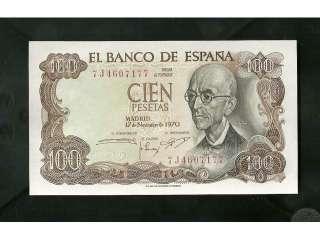 Características del anuncio 4 monedas y 4 billetes antiguas España