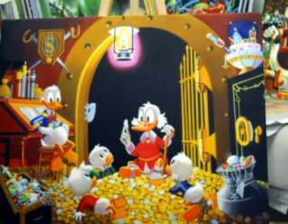 Carl Barks THIS DOLLAR SAVED MY LIFE MONEY BIN Scrooge McDuck