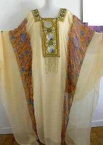 ROBE ORIENTALE DE SOIREE DUBAI MOYEN ORIENT JALABIYA gloire40 42