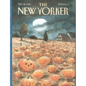 Yorker, Oct. 30, 1989 In A War Mavis Gallant, Charles Addams: Books