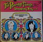 Partridge Family, David Cassidy   SHOPPING BAG   1972 Bell LP w/NM