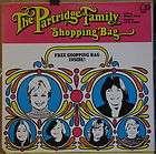 Partridge Family, David Cassidy   SHOPPING BAG   1972 Bell LP w/NM
