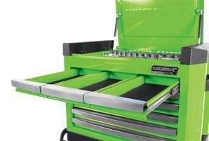 KINCROME TOOL BOX/CHEST 8 DRAWER GREEN