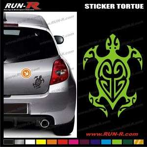 Sticker Tortue tribal tattoo   Tortuga Turtle   A04