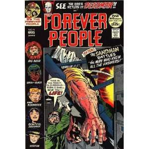 FOREVER PEOPLE #9 Jack Kirby story & art Books